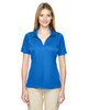 Ltnaut Blu - 75118 Ash City - Extreme Eperformance Propel Interlock Polo Shirt with Contrast Tape