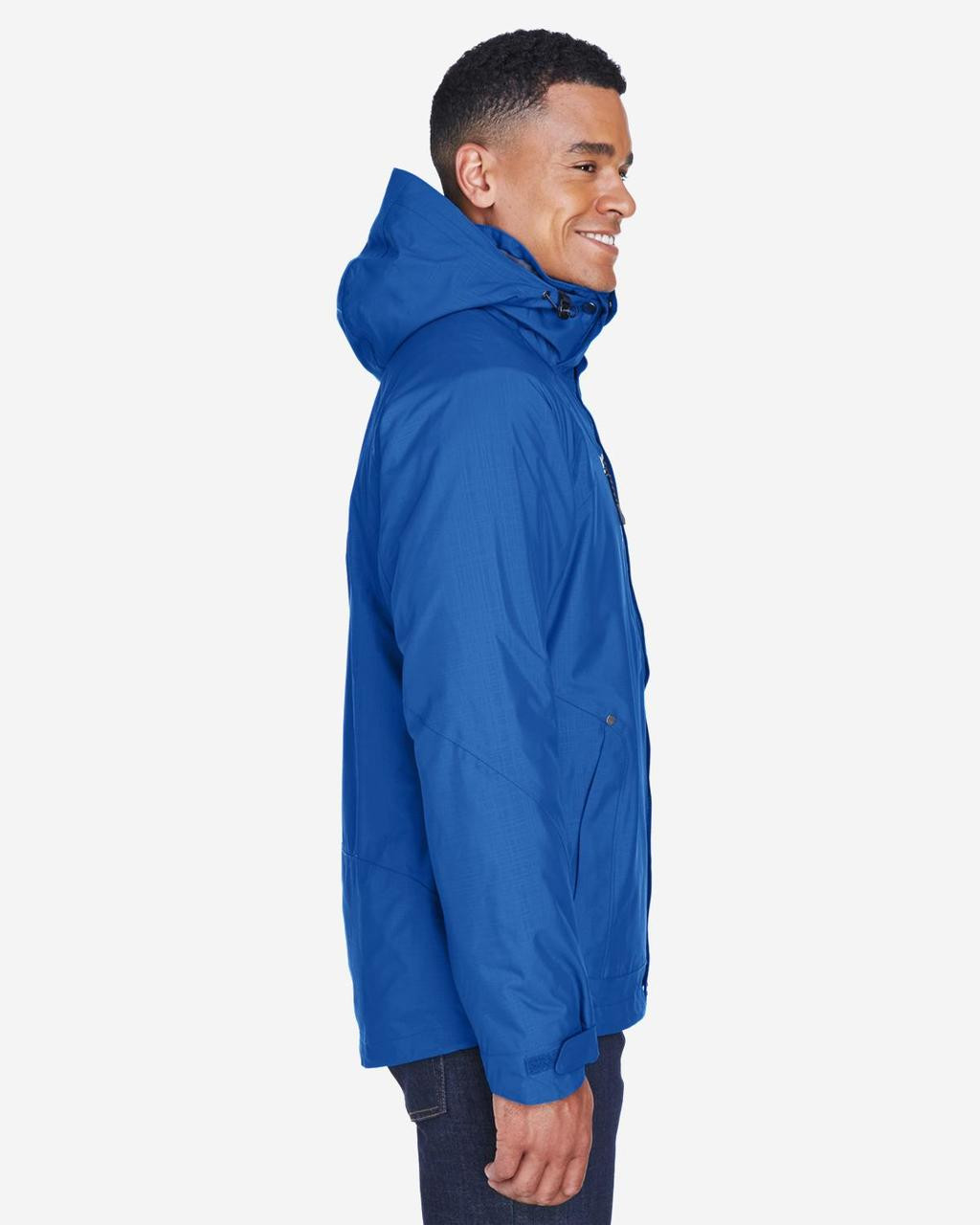 Nautical Blue - Side, 88178 North End Caprice 3-in-1 Jacket with Soft Shell Liner | BlankClothing.ca