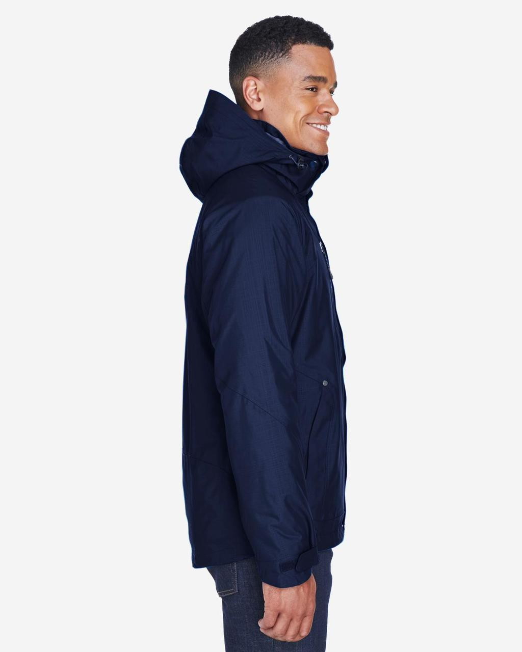 Classic Navy - Side, 88178 North End Caprice 3-in-1 Jacket with Soft Shell Liner | BlankClothing.ca