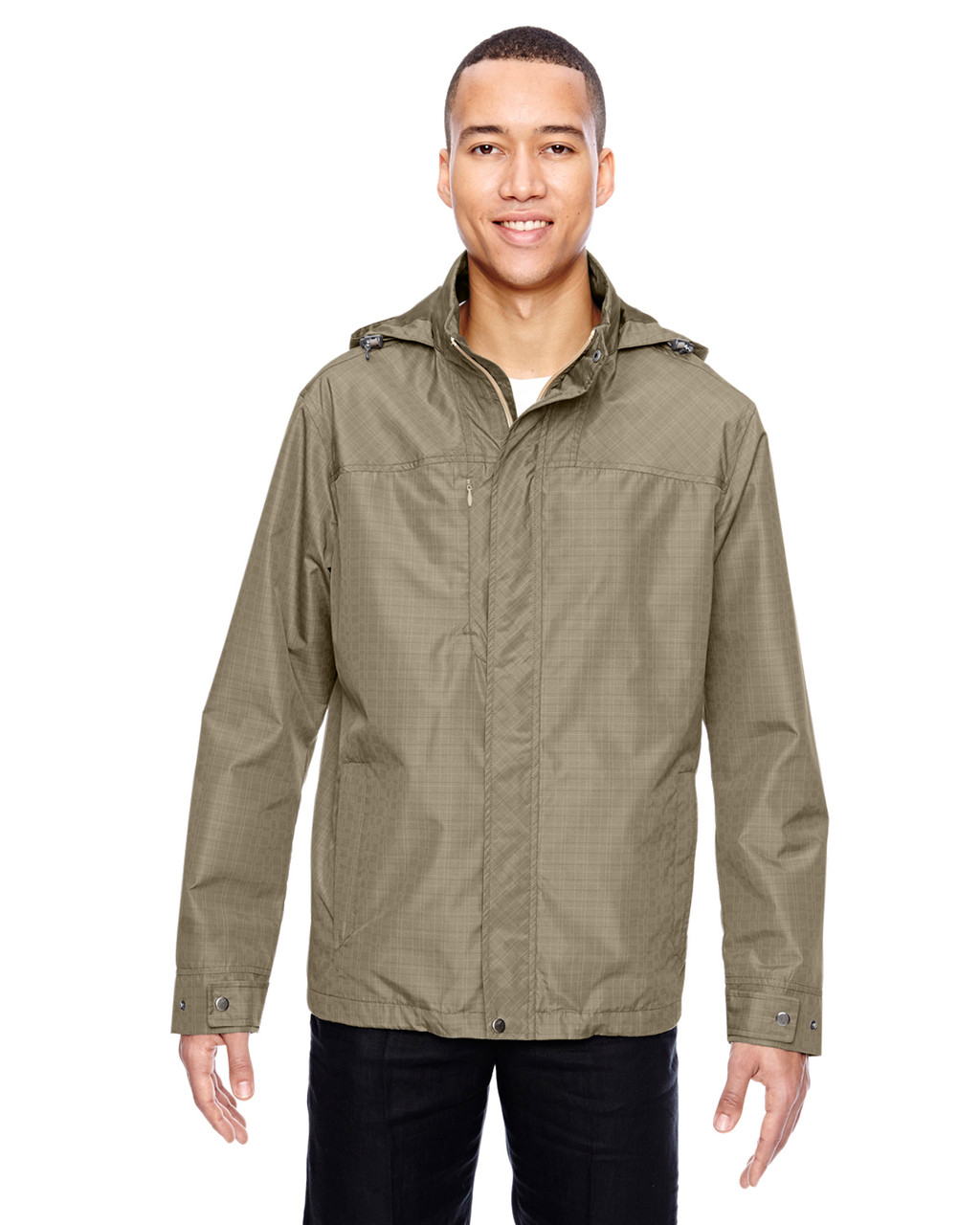 Stone 88216 North End Excursion Transcon Lightweight Jacket with Pattern   Blankclothing.ca