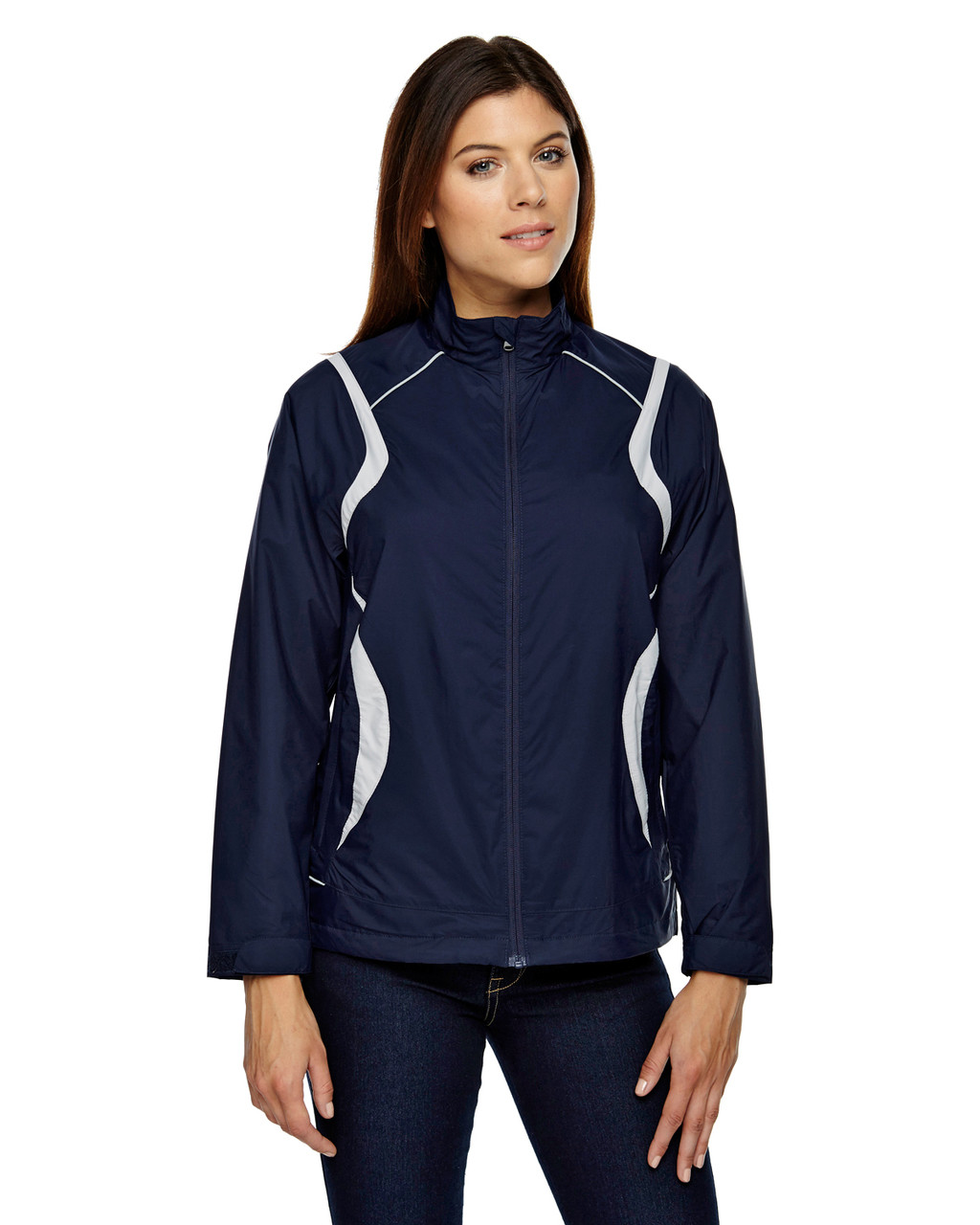 Classic Navy 78167 North End Venture Lightweight Mini Ottoman Jacket | Blankclothing.ca