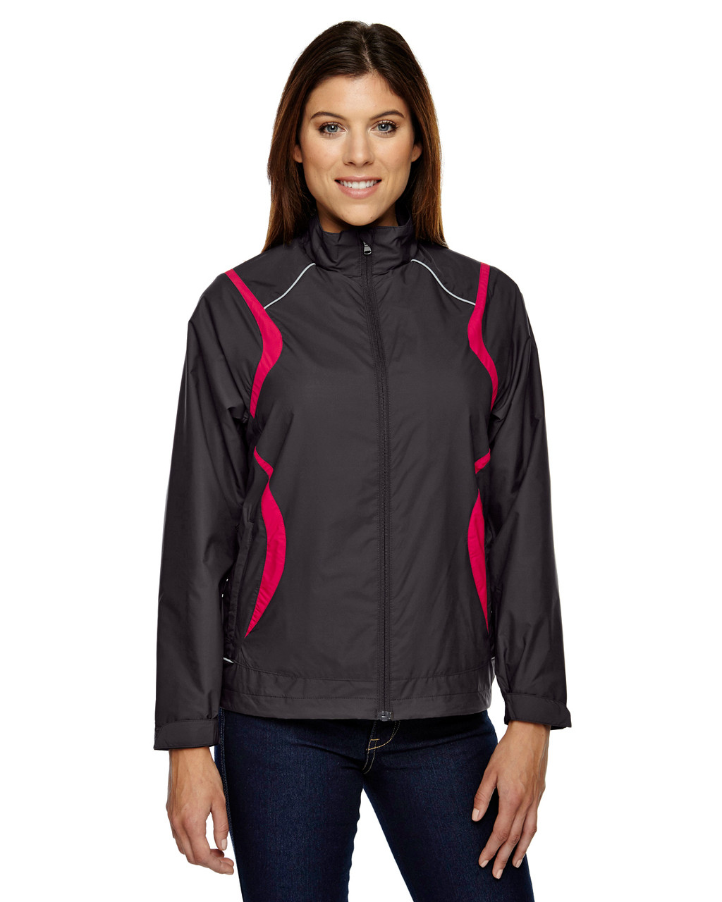 Blk silk 78167 78167 North End Venture Lightweight Mini Ottoman Jacket | Blankclothing.ca