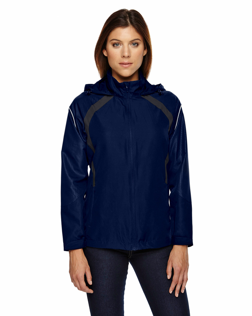 Night - 78168 North End Sirius Lightweight Jacket with Embossed Print | Blankclothing.ca