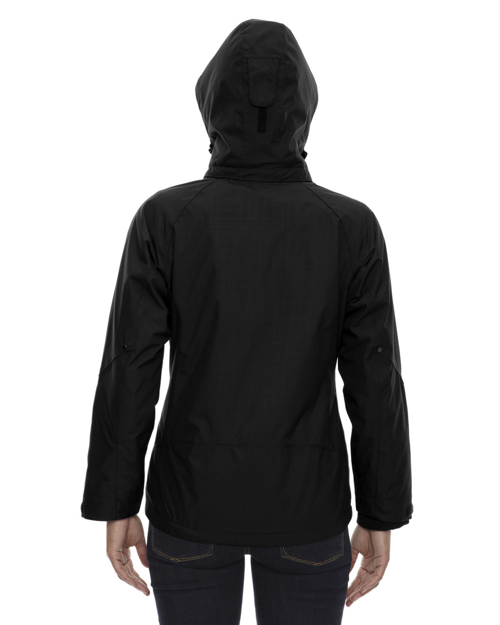 Black - Back 78178 North End Caprice 3-in-1 Jacket with Soft Shell Liner | Blankclothing.ca