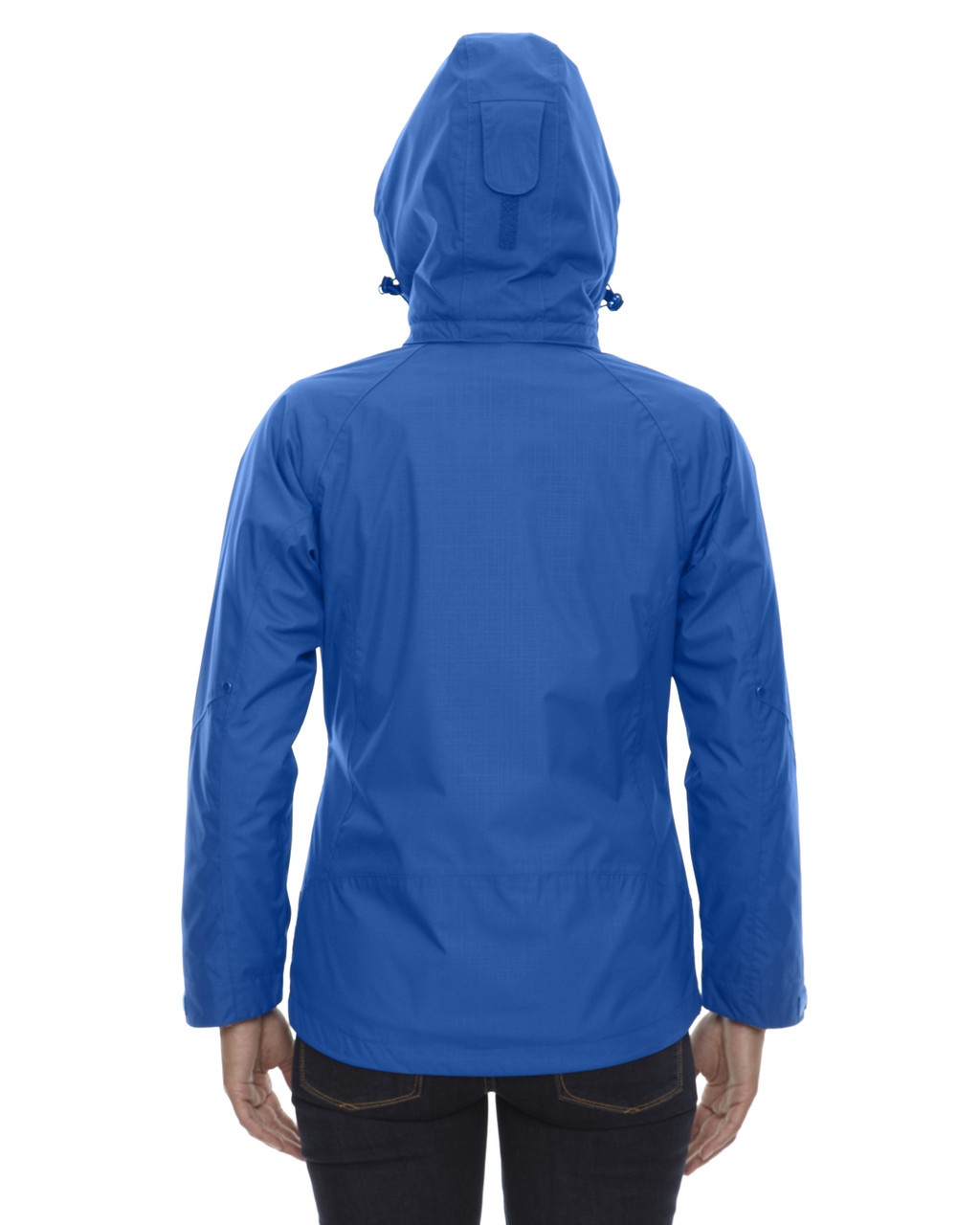 Nautical Blue - back 78178 North End Caprice 3-in-1 Jacket with Soft Shell Liner | Blankclothing.ca