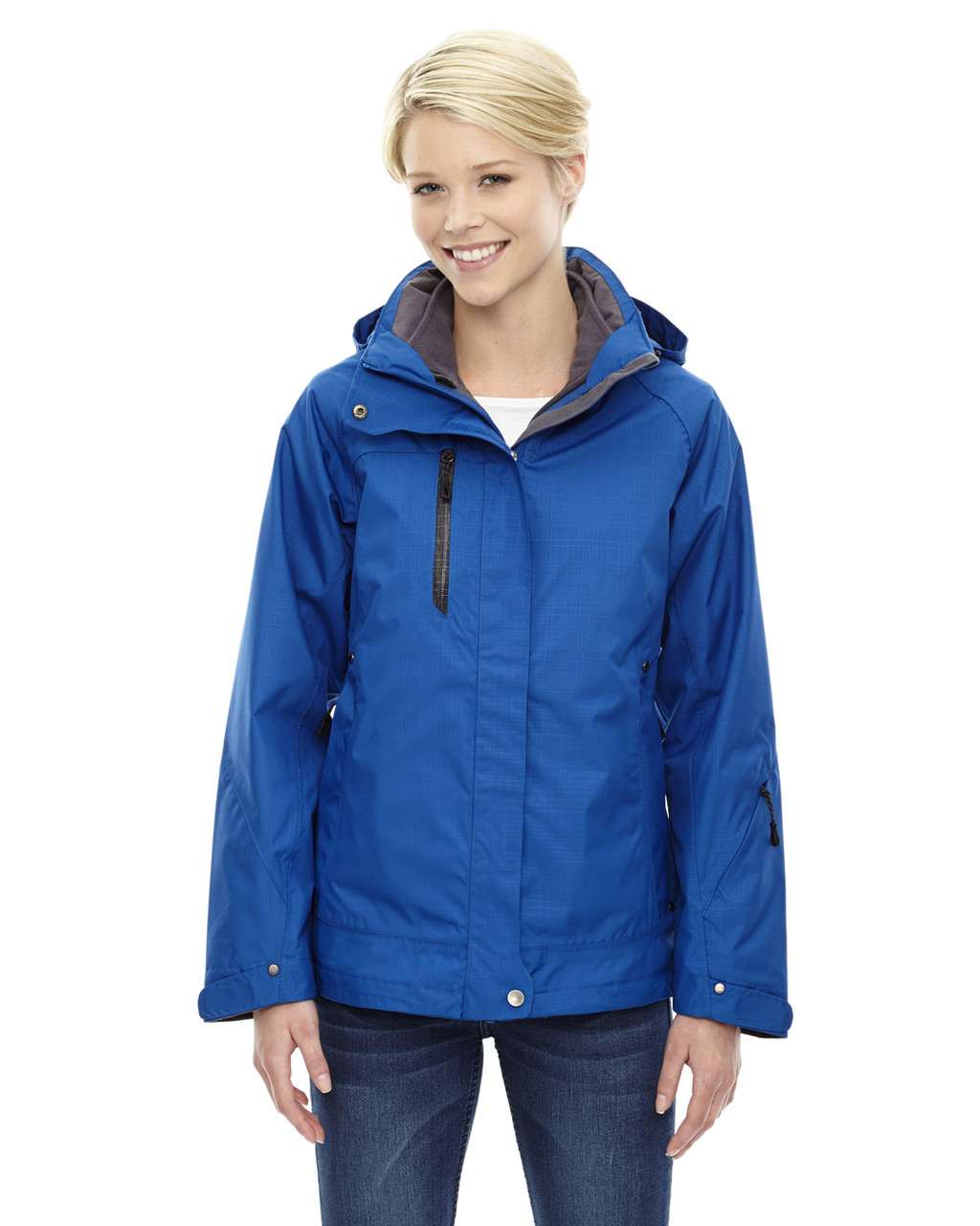 Nautical Blue - 78178 North End Caprice 3-in-1 Jacket with Soft Shell Liner | Blankclothing.ca