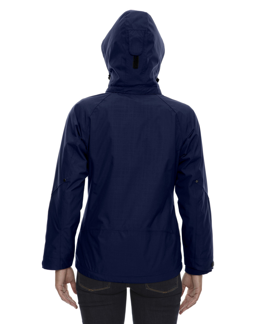 Classic Navy - back 78178 North End Caprice 3-in-1 Jacket with Soft Shell Liner | Blankclothing.ca