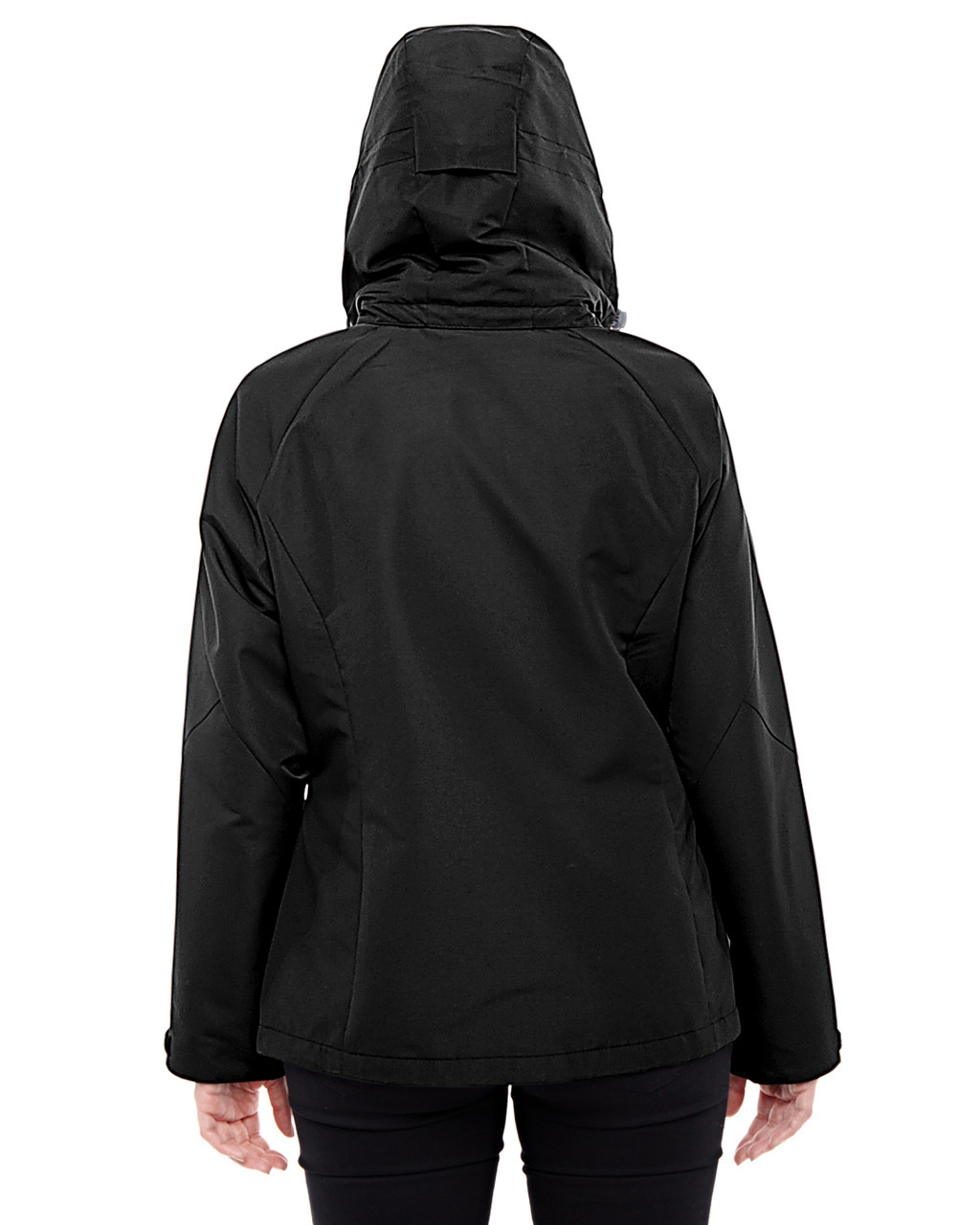 Black/Graphite - back 78226 North End Ladies' Insight Interactive Shell Jacket | Blankclothing.ca