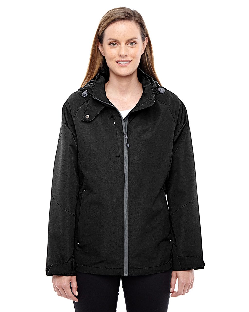 Black-Graphite 78226 North End Ladies' Insight Interactive Shell Jacket | Blankclothing.ca