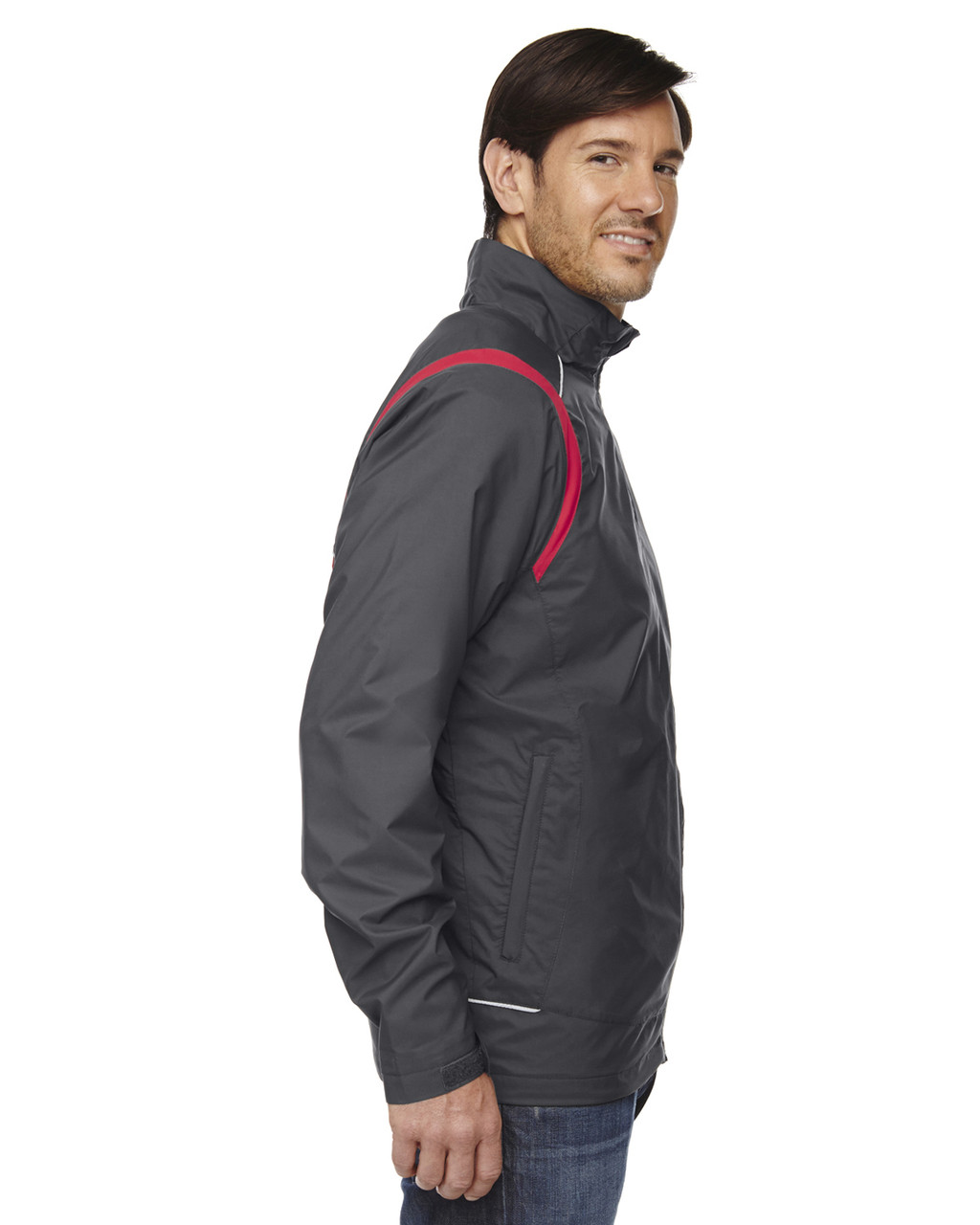 Black/Silk-side 88167 North End Venture Lightweight Mini Ottoman Jacket | Blankclothing.ca