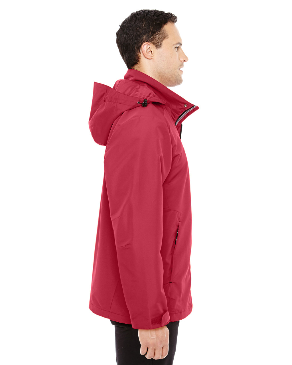 Classic Red/Black-side 88226 North End Men's Insight Interactive Shell Jacket | Blankclothing.ca