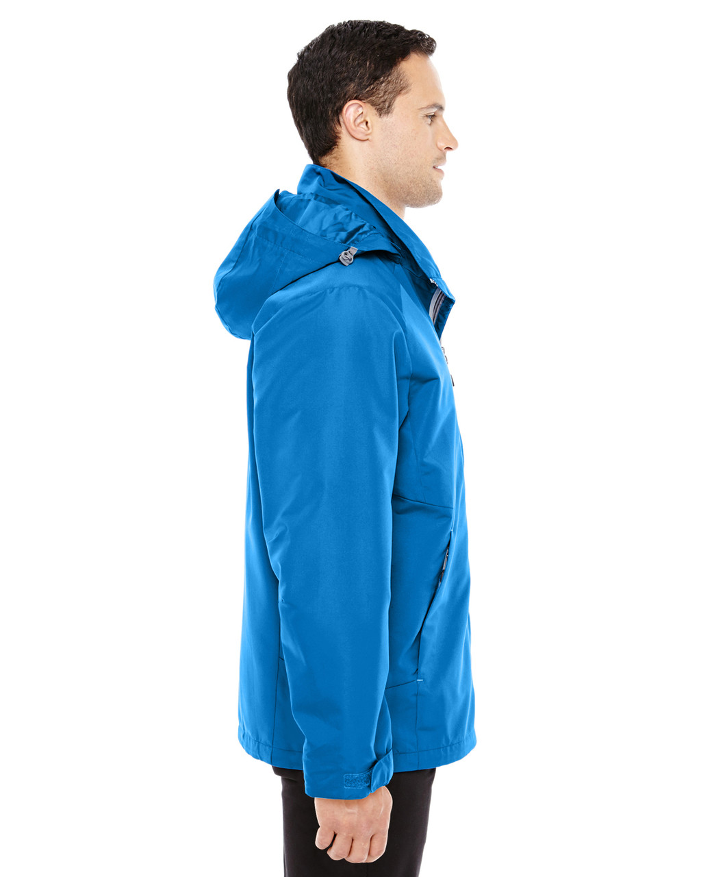 Nautical Blue/Platinum-side 88226 North End Men's Insight Interactive Shell Jacket | Blankclothing.ca