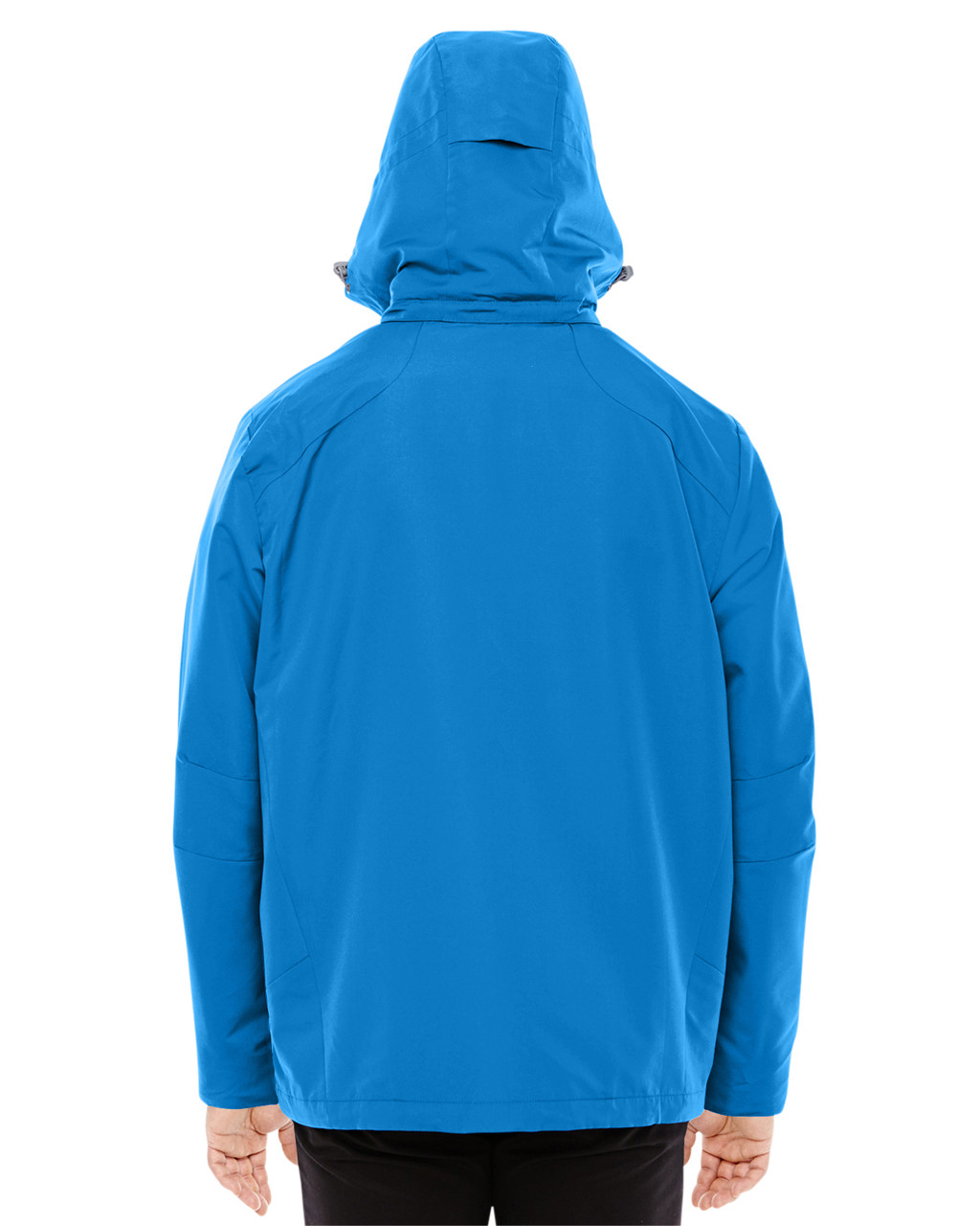 Nautical Blue/Platinum-back 88226 North End Men's Insight Interactive Shell Jacket | Blankclothing.ca
