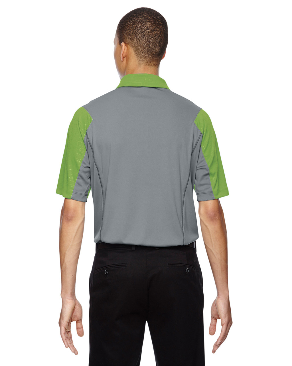 Green Flash-back 88691 North End Sport Red Reflex UTK Performance Embossed Print Polo Shirt