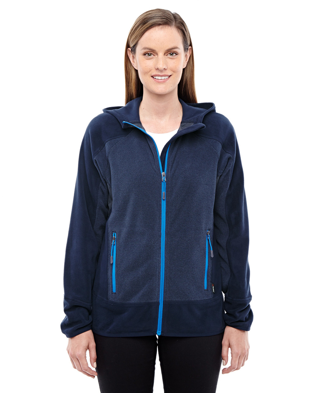 Night/Olympic Blue 78810 North End Sport Red Vortex Polartec Active Fleece Jacket