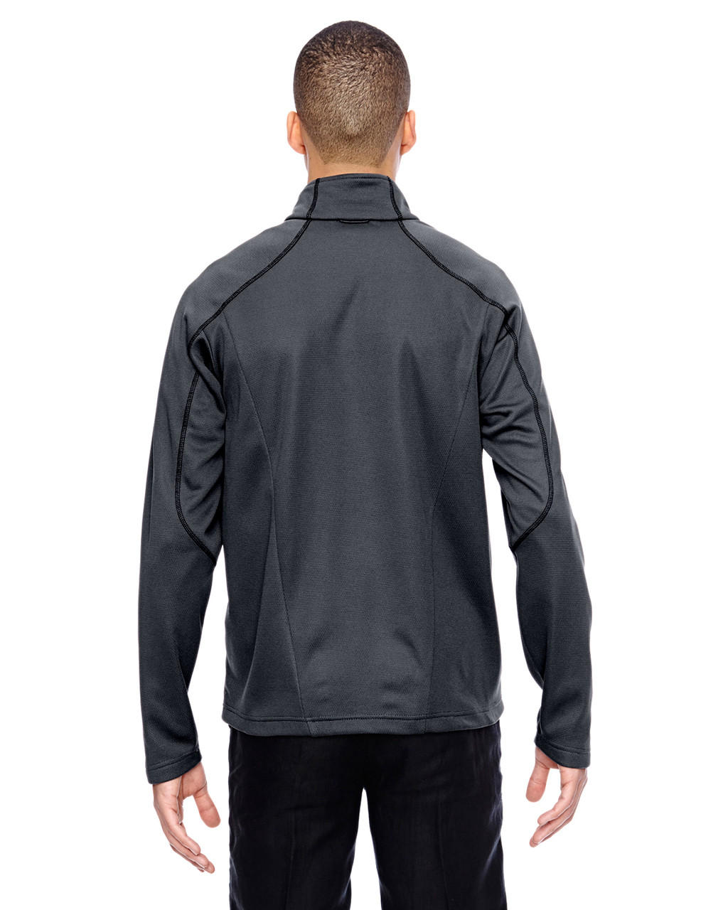 Carbon-back 88806 North End Sport Red Interactive Cadence Two-Tone Brush Back Jacket