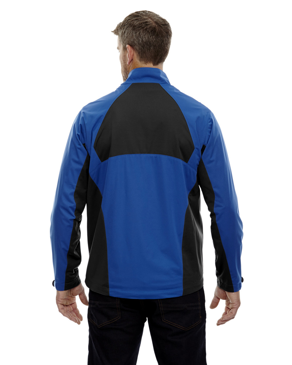 Nautical Blue-back 88656 North End Sport Red Laminated Performance Stretch Wind Shirt