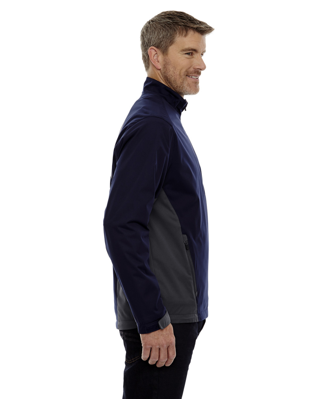 Night-side 88656 North End Sport Red Laminated Performance Stretch Wind Shirt