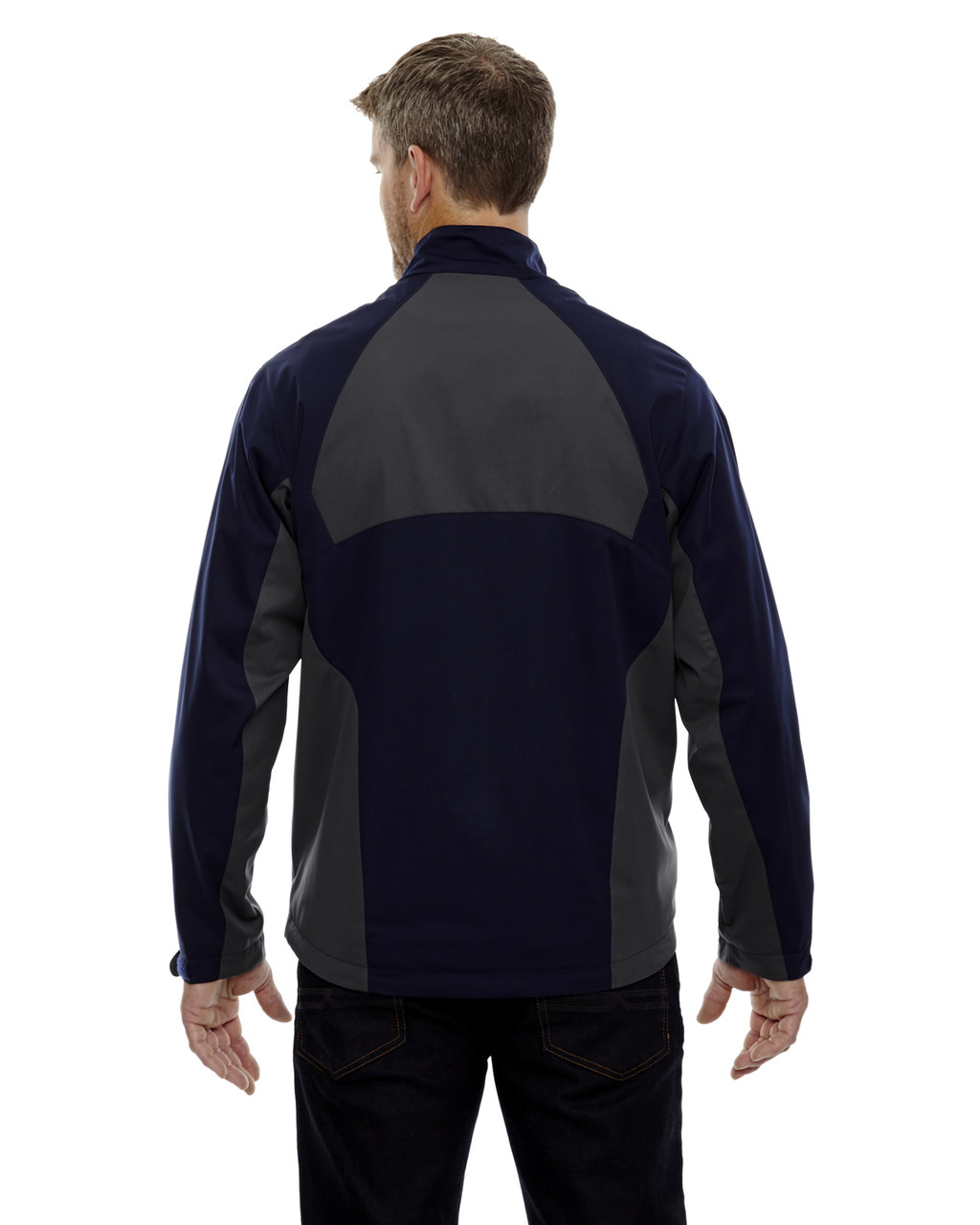 Night-back 88656 North End Sport Red Laminated Performance Stretch Wind Shirt