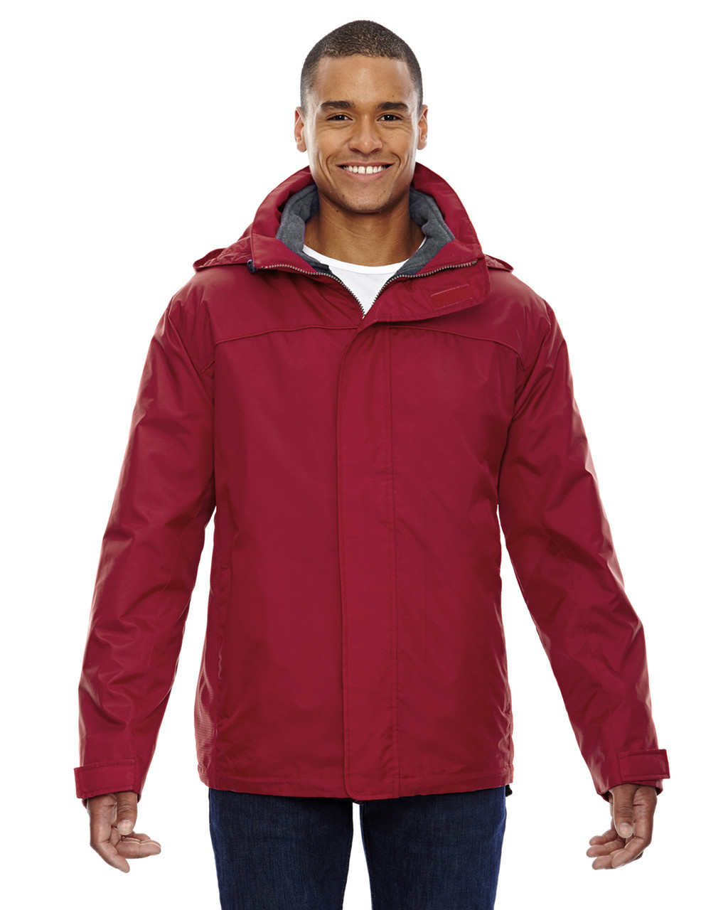 Molten Red - 88130 North End Men's 3-In-1 Jacket | Blankclothing.ca