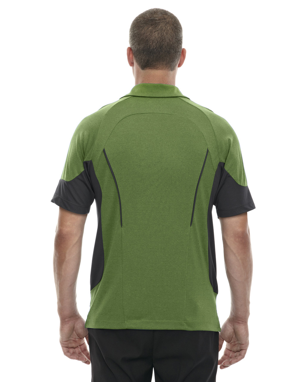 Fern-back 88677 North End Sport Red Refresh UTK Coffee Performance Jersey Polo Shirt