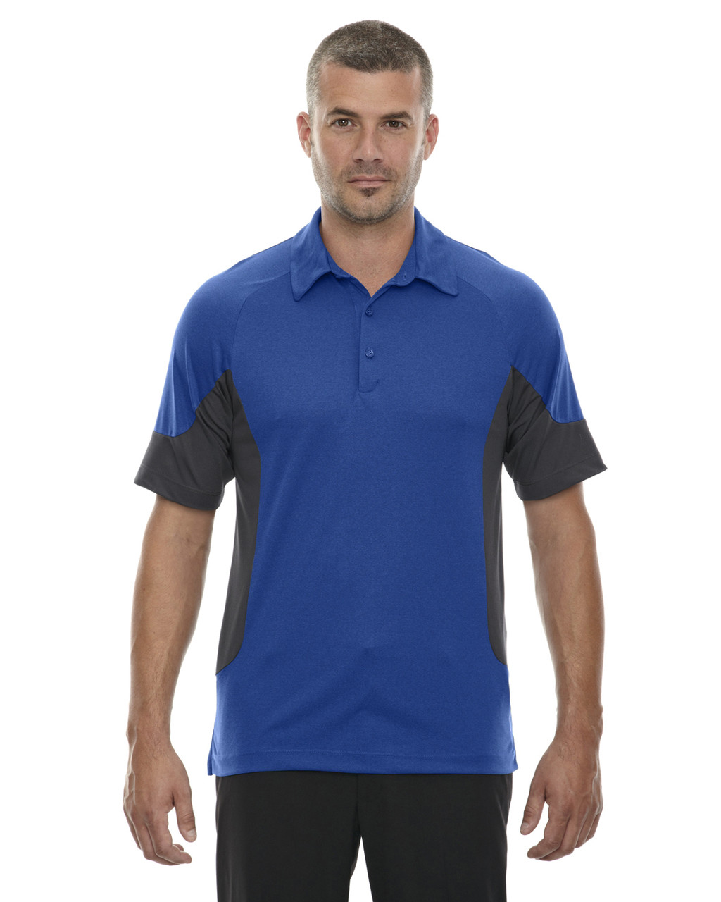 Nautical Blue - 88677 North End Sport Red Refresh UTK Coffee Performance Jersey Polo Shirt