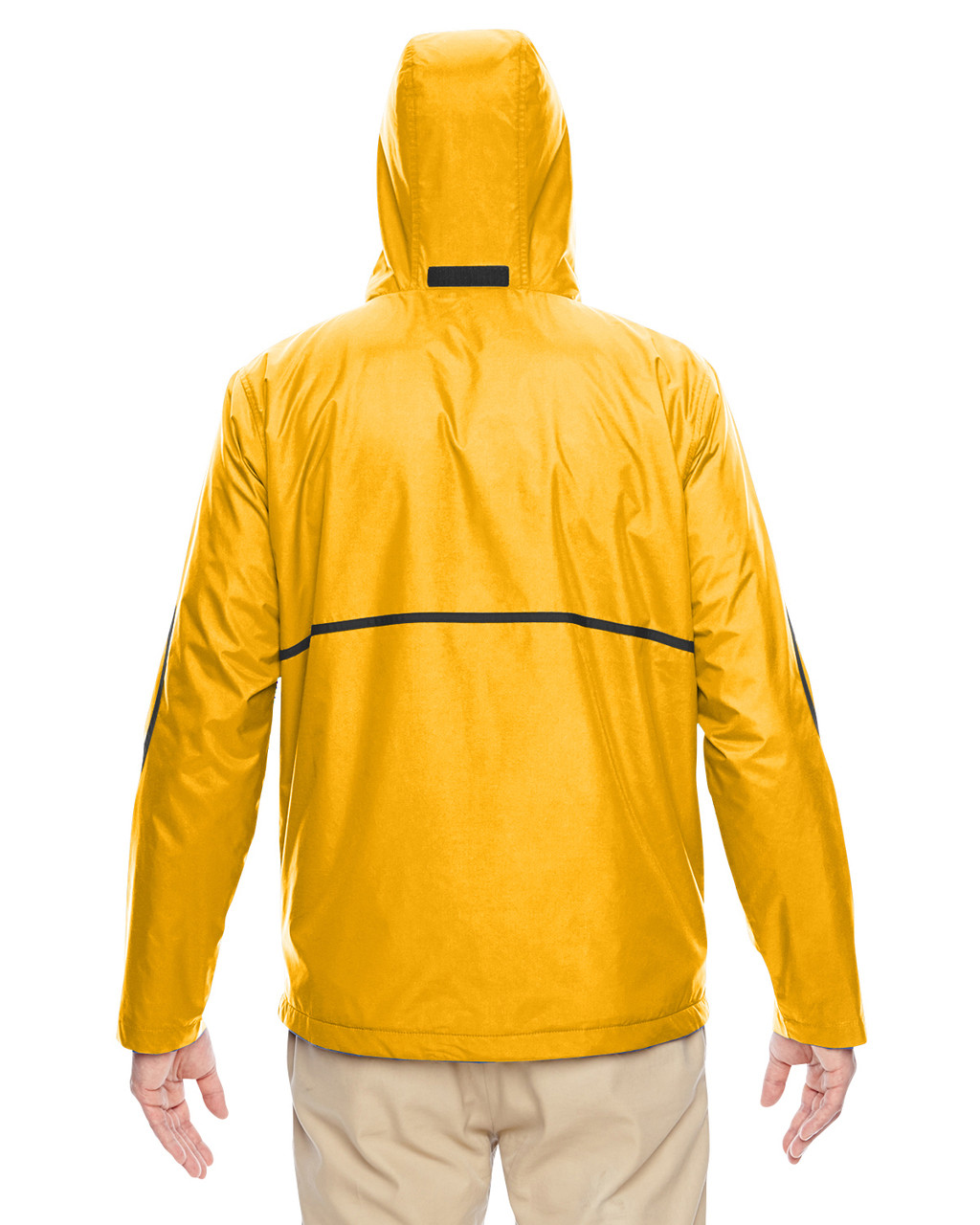 Sport Athletic Gold - Back, TT72 Team 365 Conquest Jacket with Fleece Lining | BlankClothing.ca