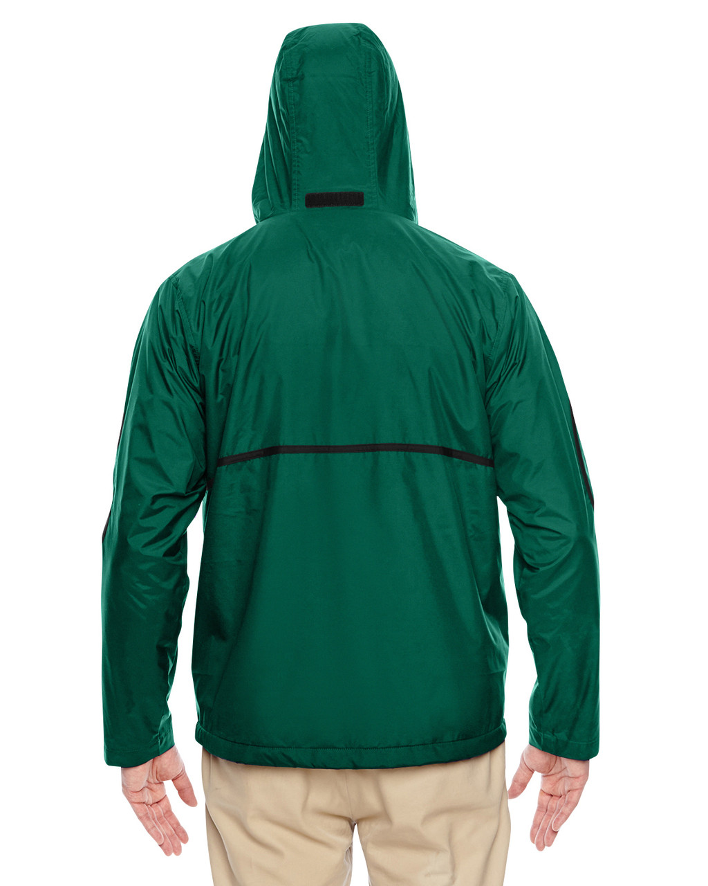 Sport Forest - Back, TT72 Team 365 Conquest Jacket with Fleece Lining | BlankClothing.ca