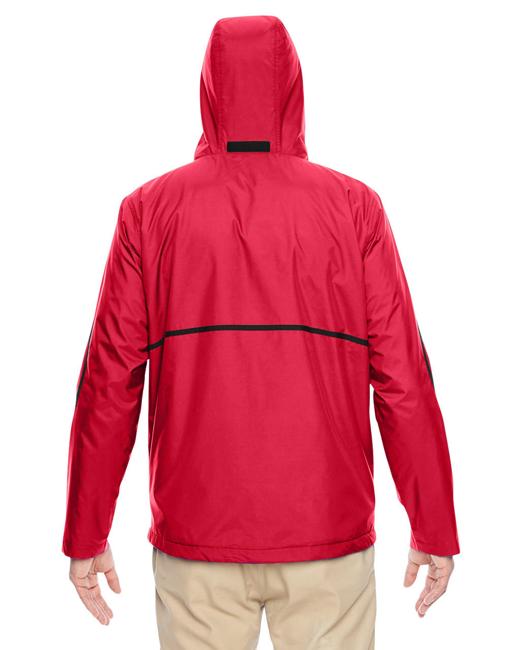 Sport Red - Back, TT72 Team 365 Conquest Jacket with Fleece Lining | BlankClothing.ca