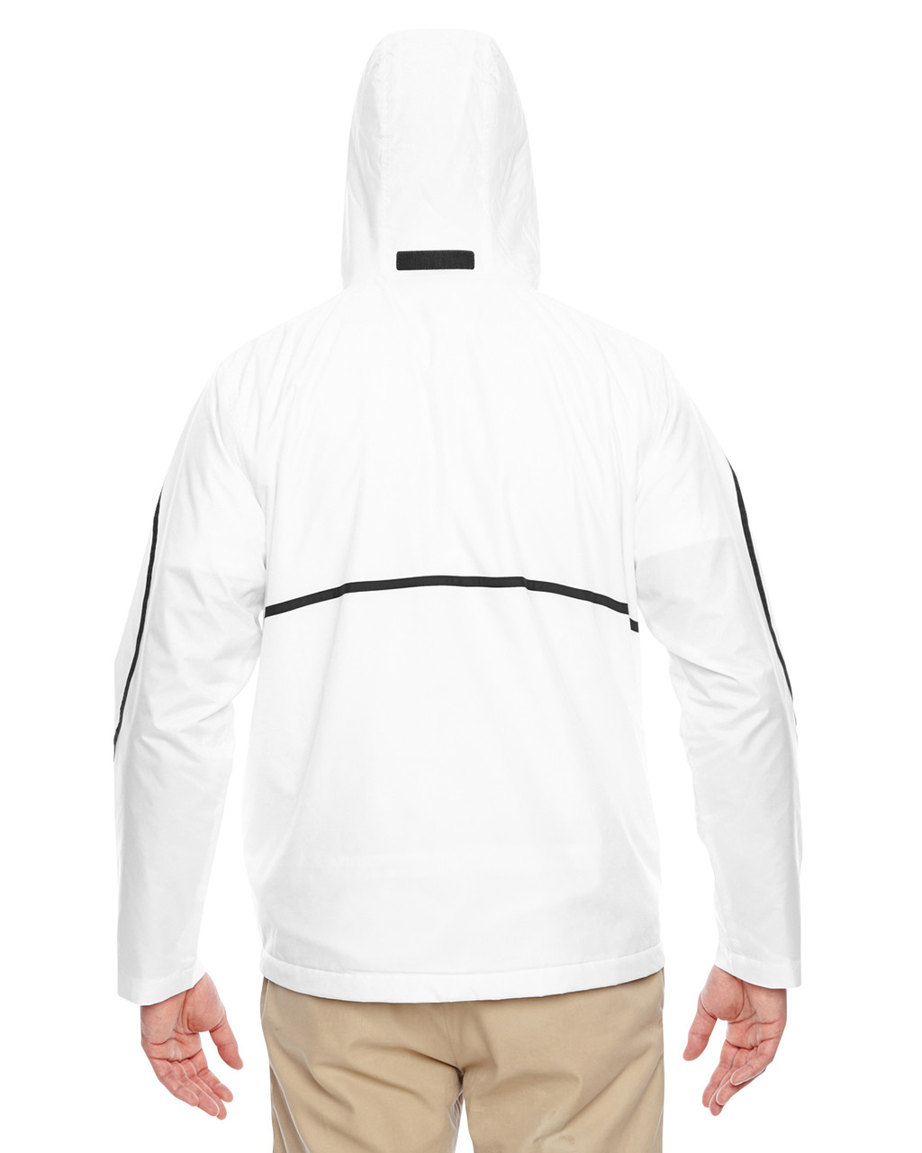 White - Back, TT72 Team 365 Conquest Jacket with Fleece Lining | BlankClothing.ca