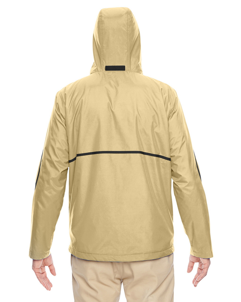 Sport Vegas Gold - Back, TT72 Team 365 Conquest Jacket with Fleece Lining | BlankClothing.ca