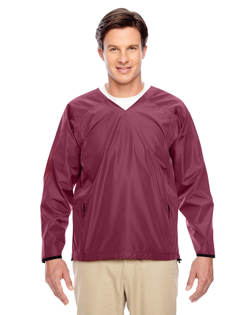 Sport Maroon TT84 Team 365 Dominator Waterproof Windshirt