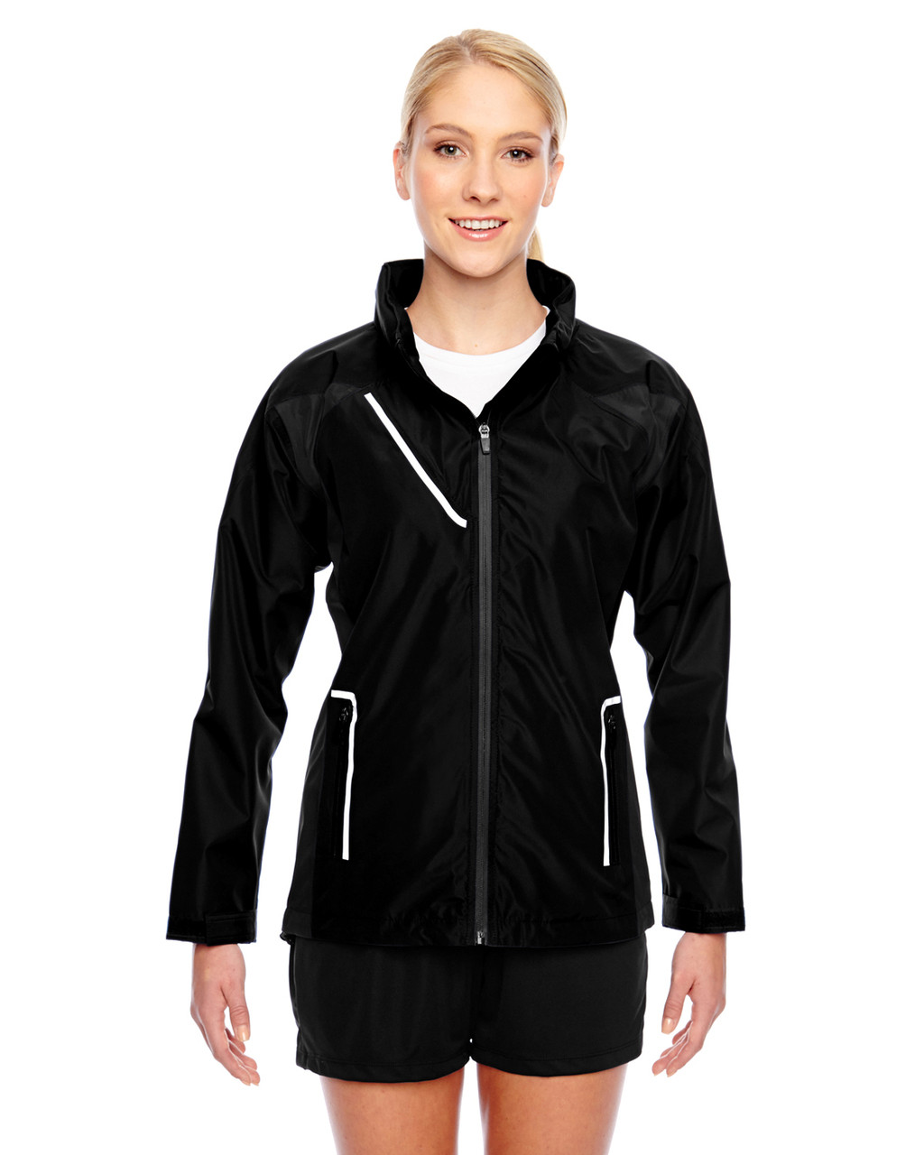 Black - TT86W Team 365 Dominator Waterproof Jacket