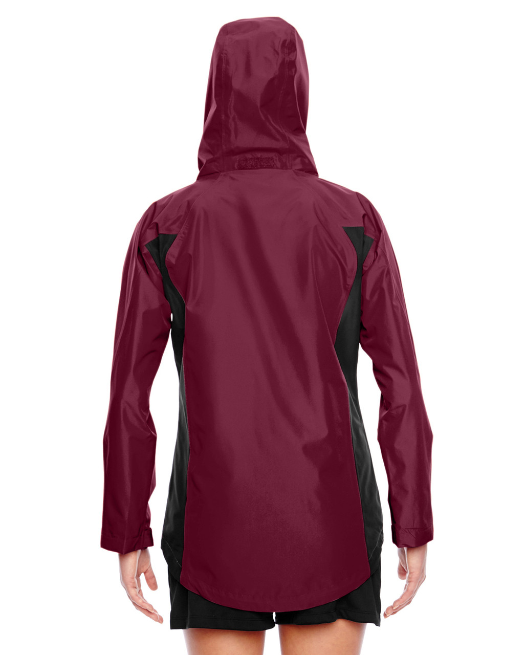 Sport Maroon - Back, TT86W Team 365 Dominator Waterproof Jacket