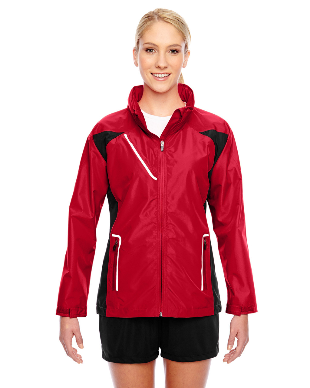 Sport Red - TT86W Team 365 Dominator Waterproof Jacket