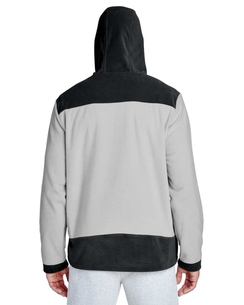 Black/Sport Silver-back TT94 Team 365 Rally Colourblock Microfleece Jacket