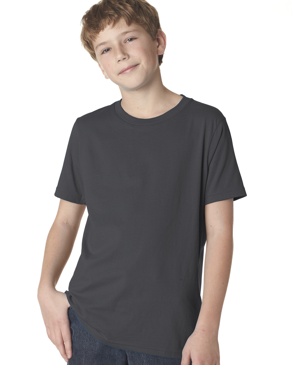 Heavy Metal 3310 Next Level Boys' Premium Crew Tee | Blankclothing.ca