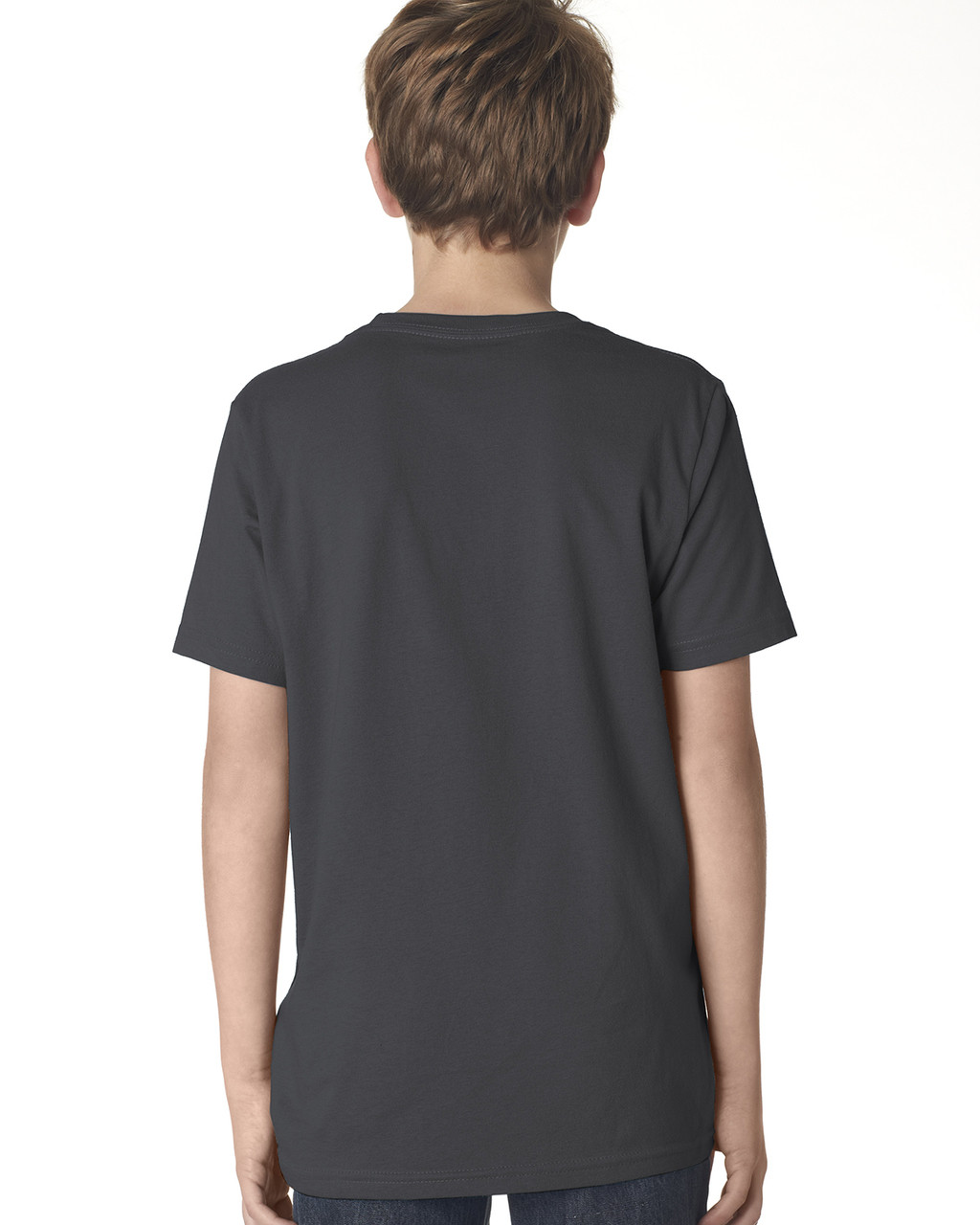 Heavy Metal, back 3310 Next Level Boys' Premium Crew Tee | Blankclothing.ca