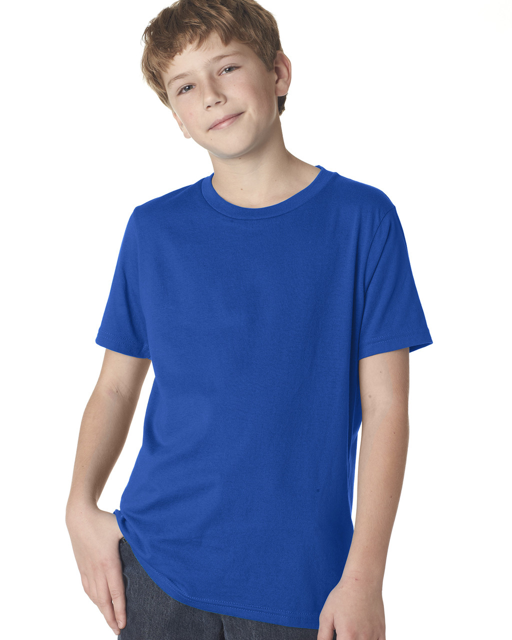 Royal 3310 Next Level Boys' Premium Crew Tee | Blankclothing.ca