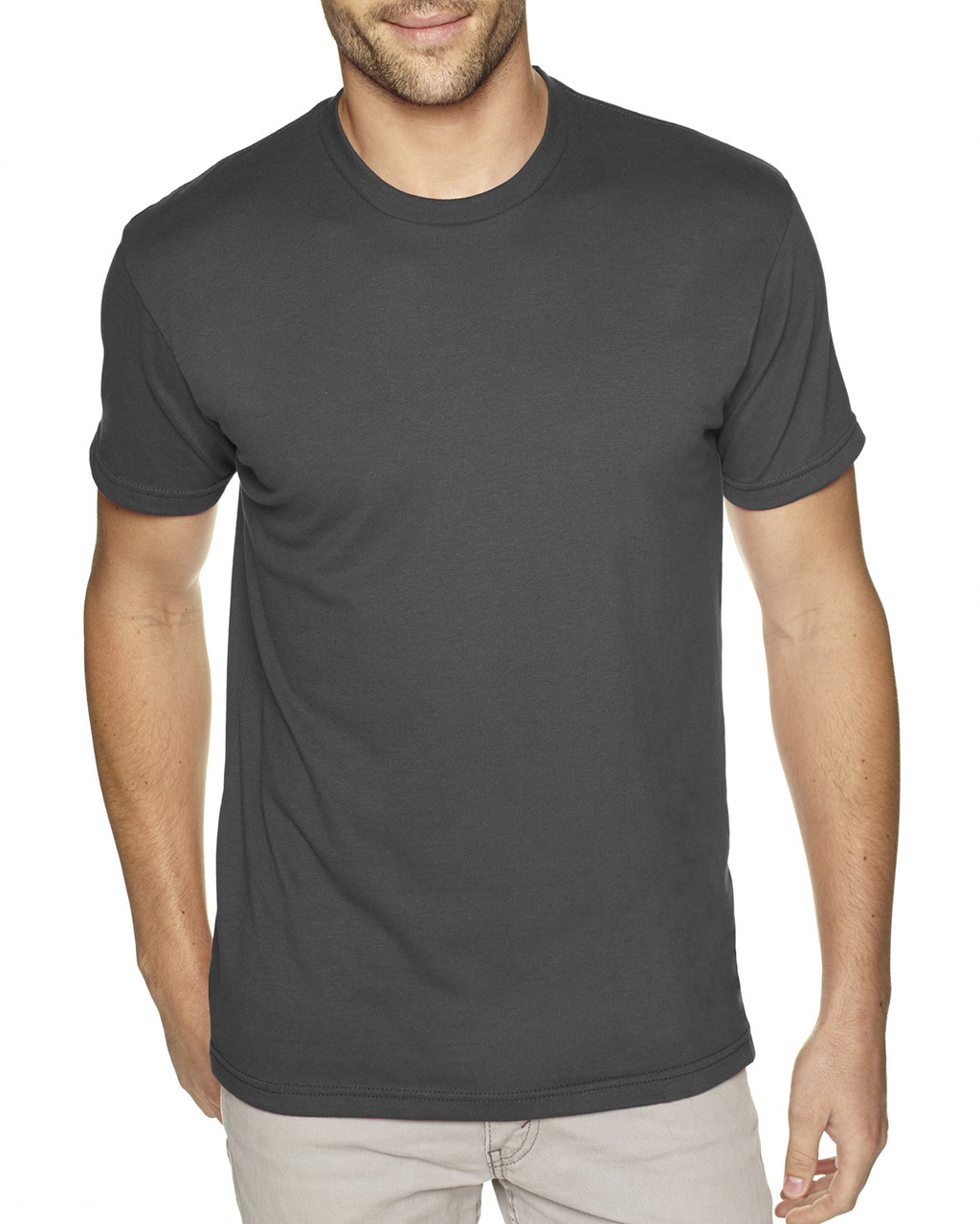 Heavy Metal - 6410 Next Level Men's Premium Fitted Sueded T-Shirt | Blankclothing.ca