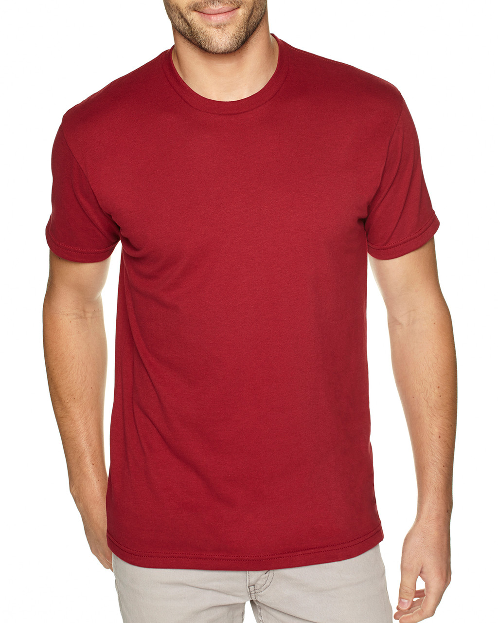 Cardinal - 6410 Next Level Men's Premium Fitted Sueded T-Shirt | Blankclothing.ca