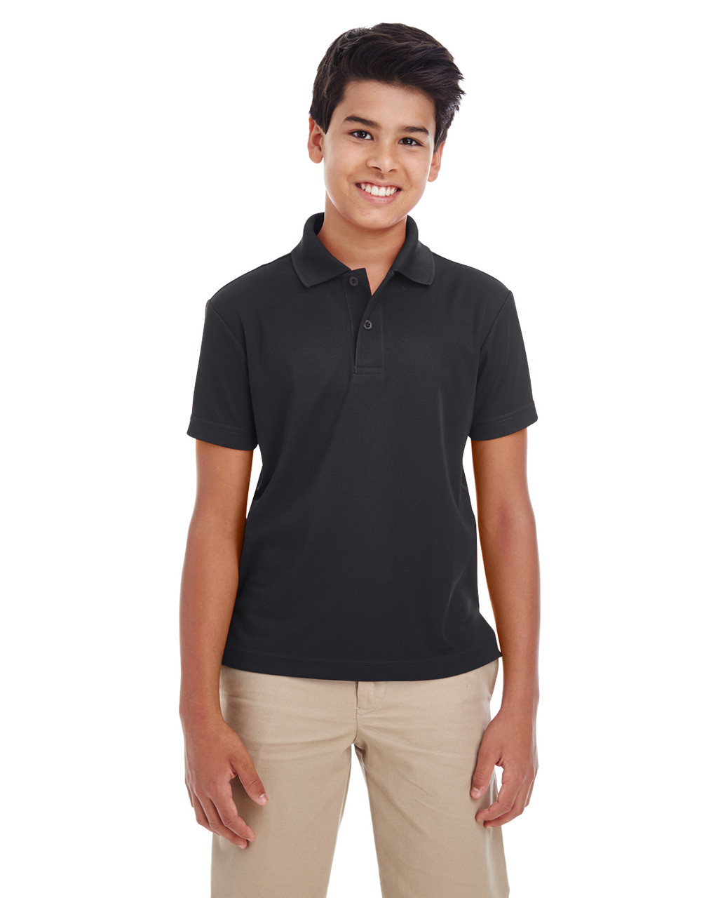 Classic Navy - 88181Y Ash City - Core 365 Youth Origin Performance Pique Polo Shirt | Blankclothing.ca