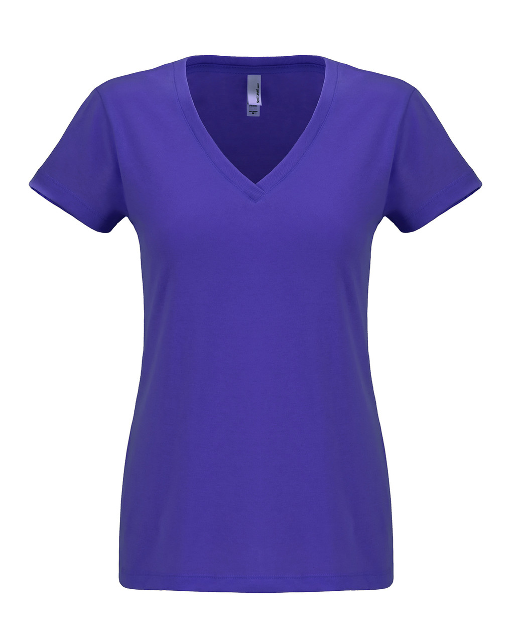 Purple Rush - N6480 Next Level Ladies Sueded V-Neck Tee | Blankclothing.ca