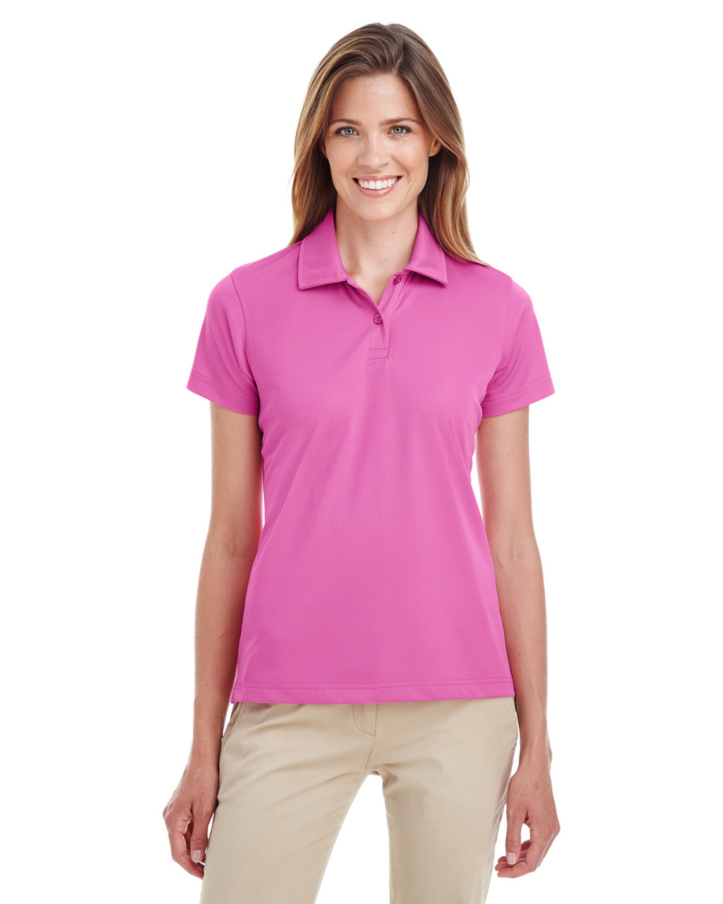 Sport Charity Pink - TT21W Team 365 Ladies' Command Snag Protection Polo Shirt