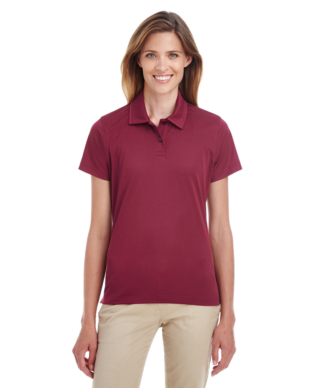 Sport Maroon - TT21W Team 365 Ladies' Command Snag Protection Polo Shirt