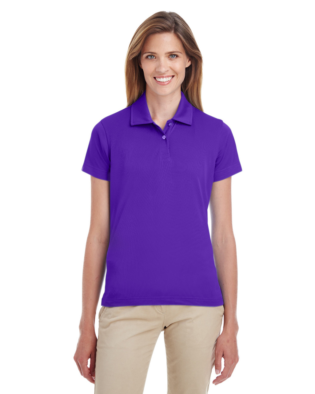 Sport Purple - TT21W Team 365 Ladies' Command Snag Protection Polo Shirt