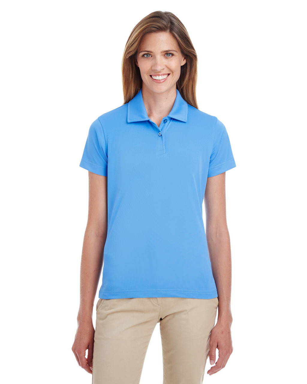 Sport Light Blue - TT21W Team 365 Ladies' Command Snag Protection Polo Shirt