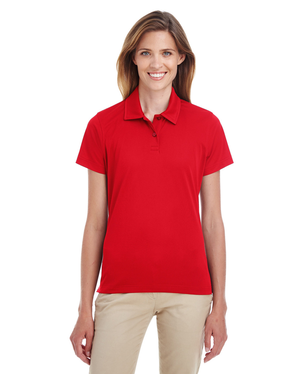 Sport Red - TT21W Team 365 Ladies' Command Snag Protection Polo Shirt