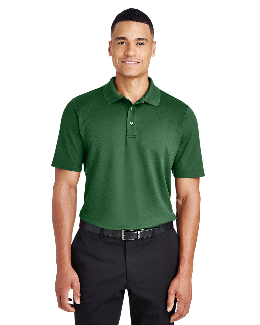 Devon /& Jones Mens Crownlux Performance Plaited Polo