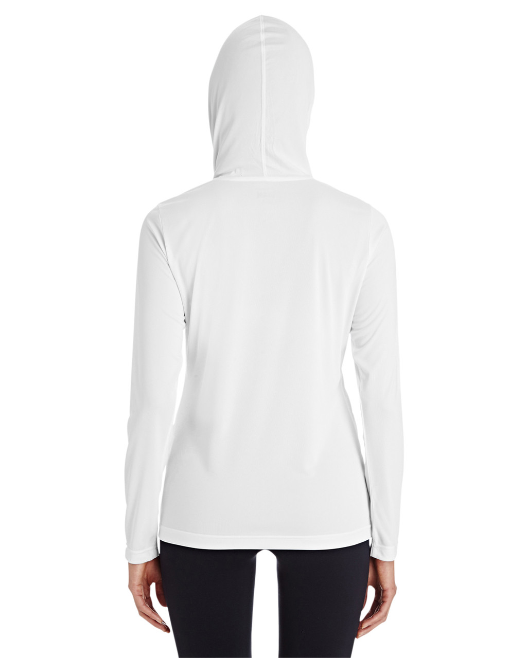 White - TT41W Team 365 Ladies' Zone Performance Hoodie